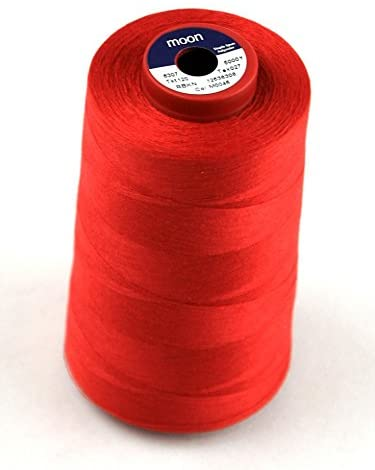 Coats Moon Polyester Sewing Thread Cone 4500m Red - Each