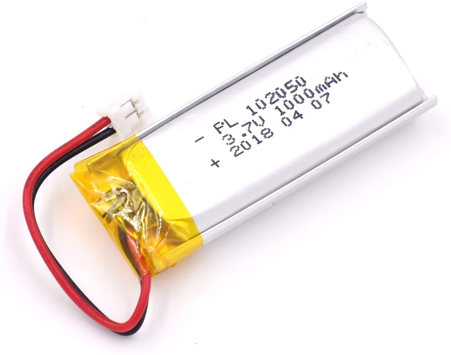 3.7V 1000mAh 102050 Lipo Battery Rechargeable Lithium Polymer ion Battery Pack with JST Connector