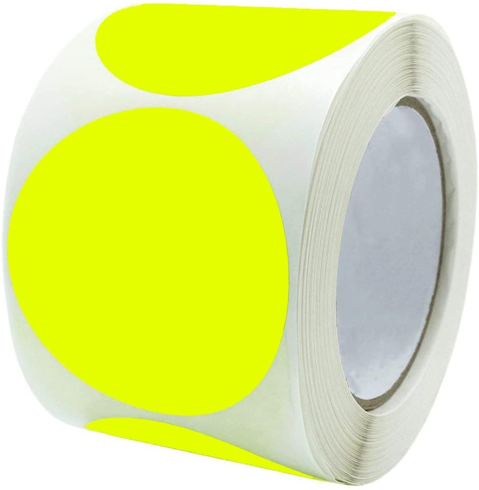Target Repair Paster Stickers Color Coding Dot Labels 3