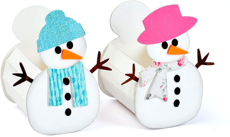 ELLISON SIZZIX L DIE SNOWMN, Box-Snowman