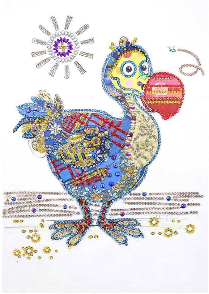 TeemorShop Sun Bird 5D Special Diamond Painting Embroidery Needlework DIY Rhinestone Crystal Cross Crafts Stitch Kit