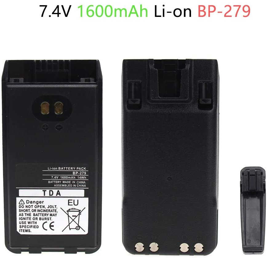 Replacement Two-Way Radio Battery for ICOM BP-279, BP-280, BP-280LI