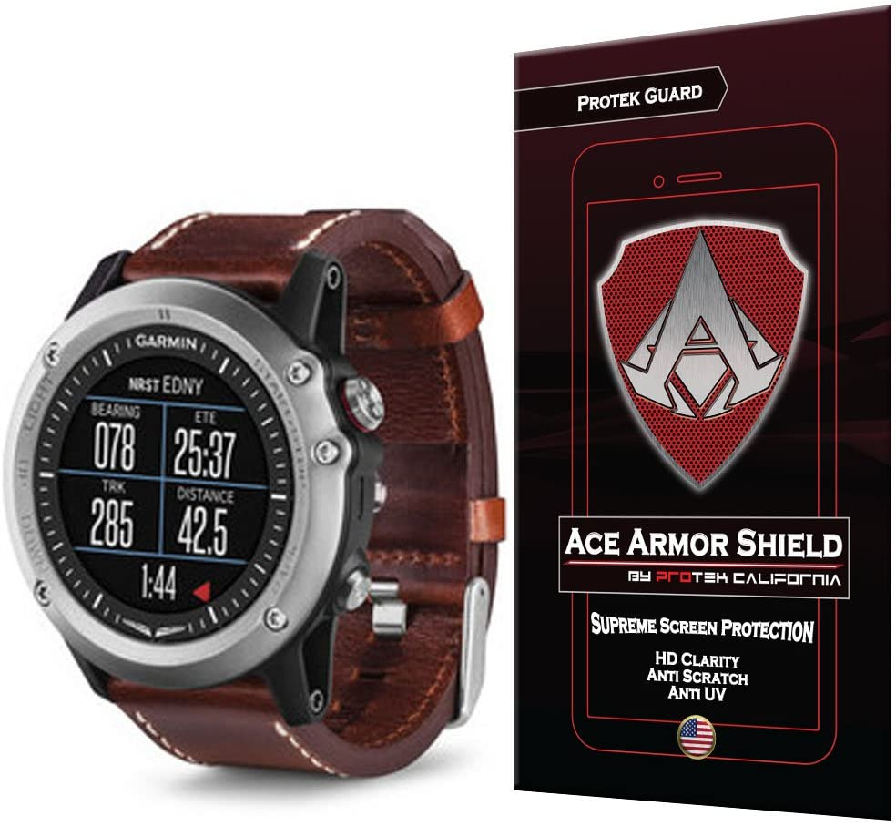 Ace Armor Shield Protek Guard Screen Protector for The Garmin D2 Bravo with Free Lifetime Replacement Warranty