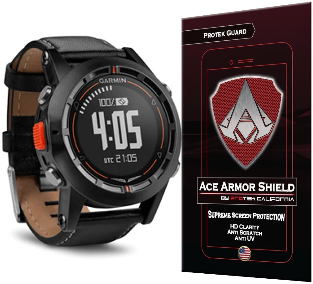 Ace Armor Shield Protek Guard Screen Protector for The Garmin D2 Pilot with Free Lifetime Replacement Warranty
