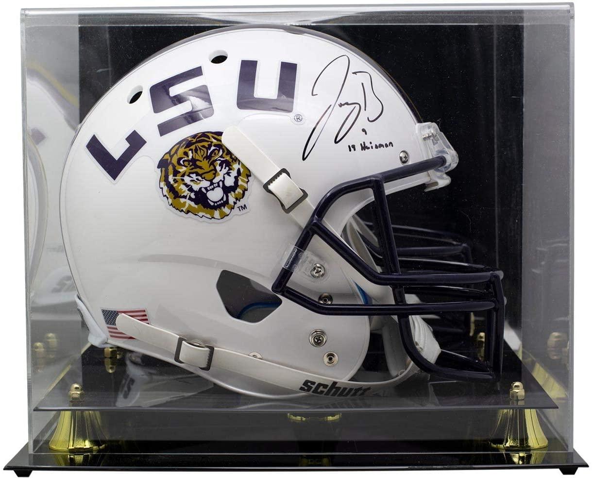 Joe Burrow Signed Full Size White Speed Rep Helmet w/Case