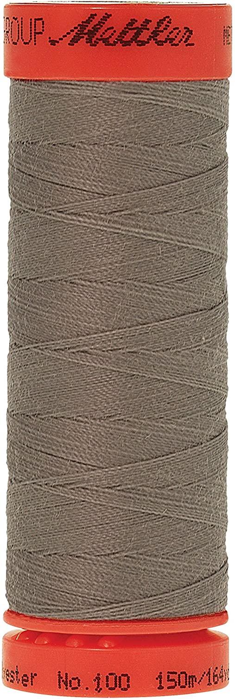Mettler Metrosene 100% Core Spun Polyester Thread, 165 yd, Smoke