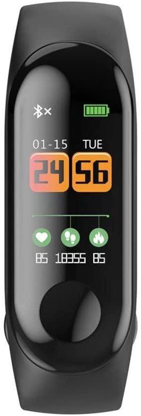 GOPG Smart Wristband, IP68 Waterproof Fitness Tracker Activity Tracker Heart Rate Monitor