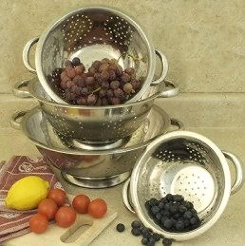 Cookpro 741 1.5 qt. Colander Set Stainless Steel - 4 Piece