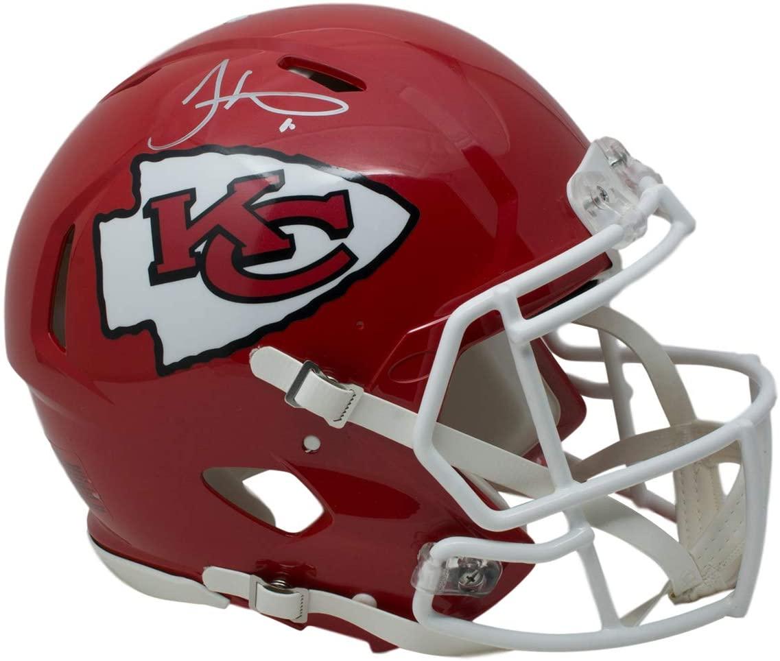 Tyreek Hill Signed Kansas City Full Size Speed Authentic Helmet JSA