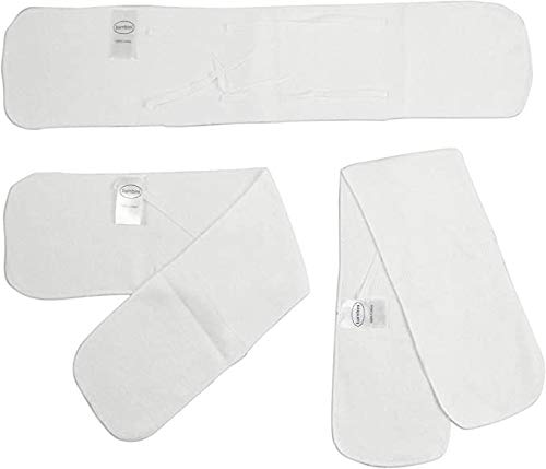 Bambini Infant Newborn Baby Belly Binder Umbilical Cord Band Abdominal Binder (Pack of 3)