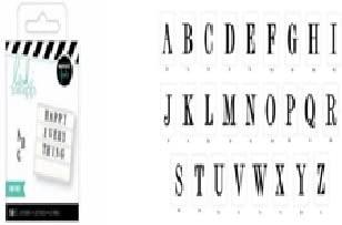 HS ChrstmsLght Mini SerifAlpha