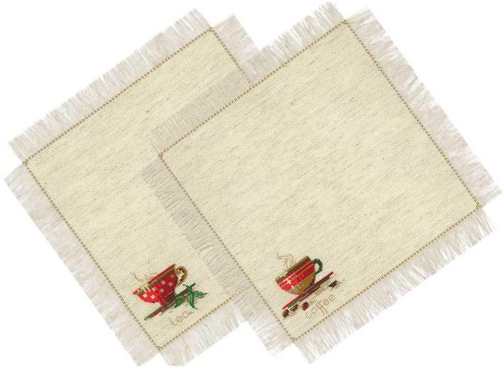 RIOLIS 1640 - Tea and Coffee Napkins - Counted Cross Stitch Kit 11