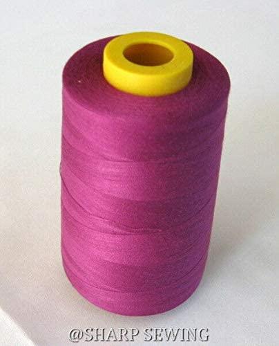 1 Spool Dark TAN 100% Polyester SERGER Quilting Thread T24 6000 Yards #685