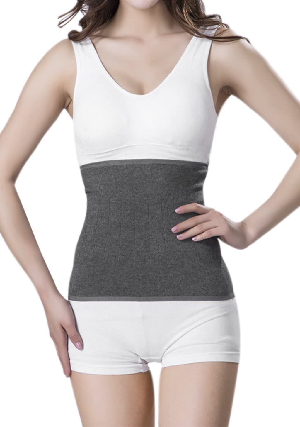 Kidney Warmer Lumbar Supports Abdominal Band Hip Waist Supports Kidney Protection Jersey Band Back Warmer Elastic Lower Waist Support Belt Compression Wool Warming Belt Body Warmer Wrapper Gift