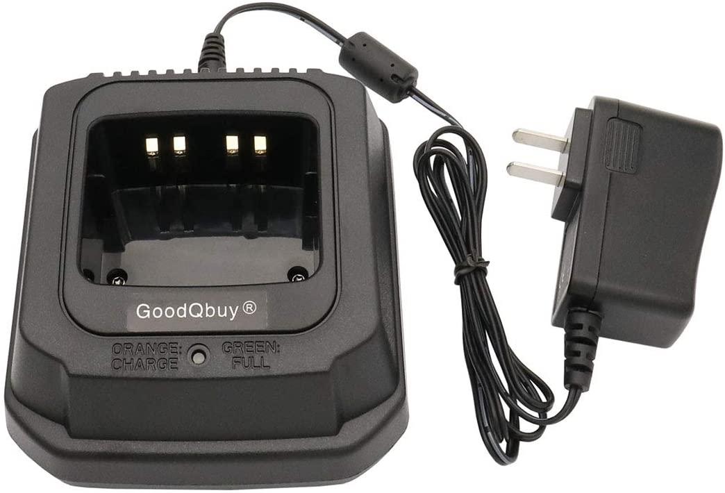 GoodQbuy NTN9858 NTN8923 Charger Compatible for Motorola XTS2500 XTS3000 XTS5000 NTN7144 XTS1500 MT2000 MTS2000 HT1000 GP900 GP1200 PR1500 NTN8831 WPLN4114AR (Without IMPRES)