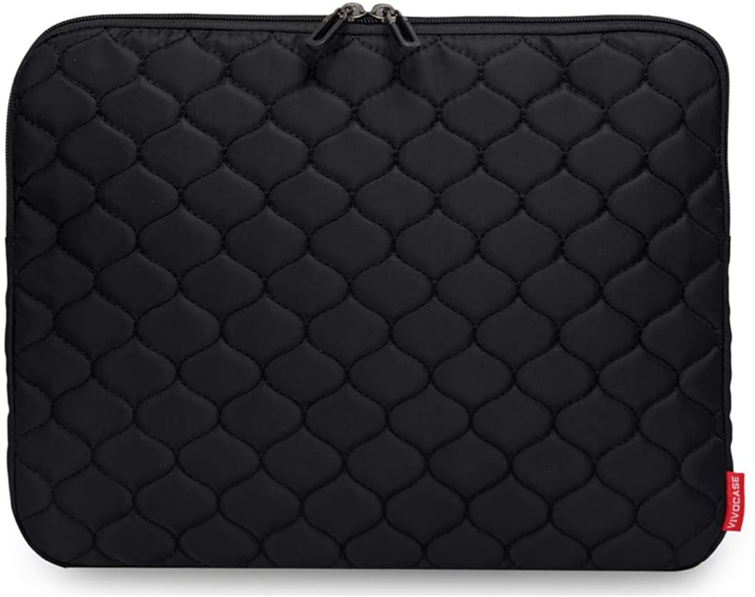 Laptop Sleeve Case 15.6 Inch Laptop Cover Bag for MacBook Pro,MacBook Air,Utrabook (15.6 Inch, Dot Black)