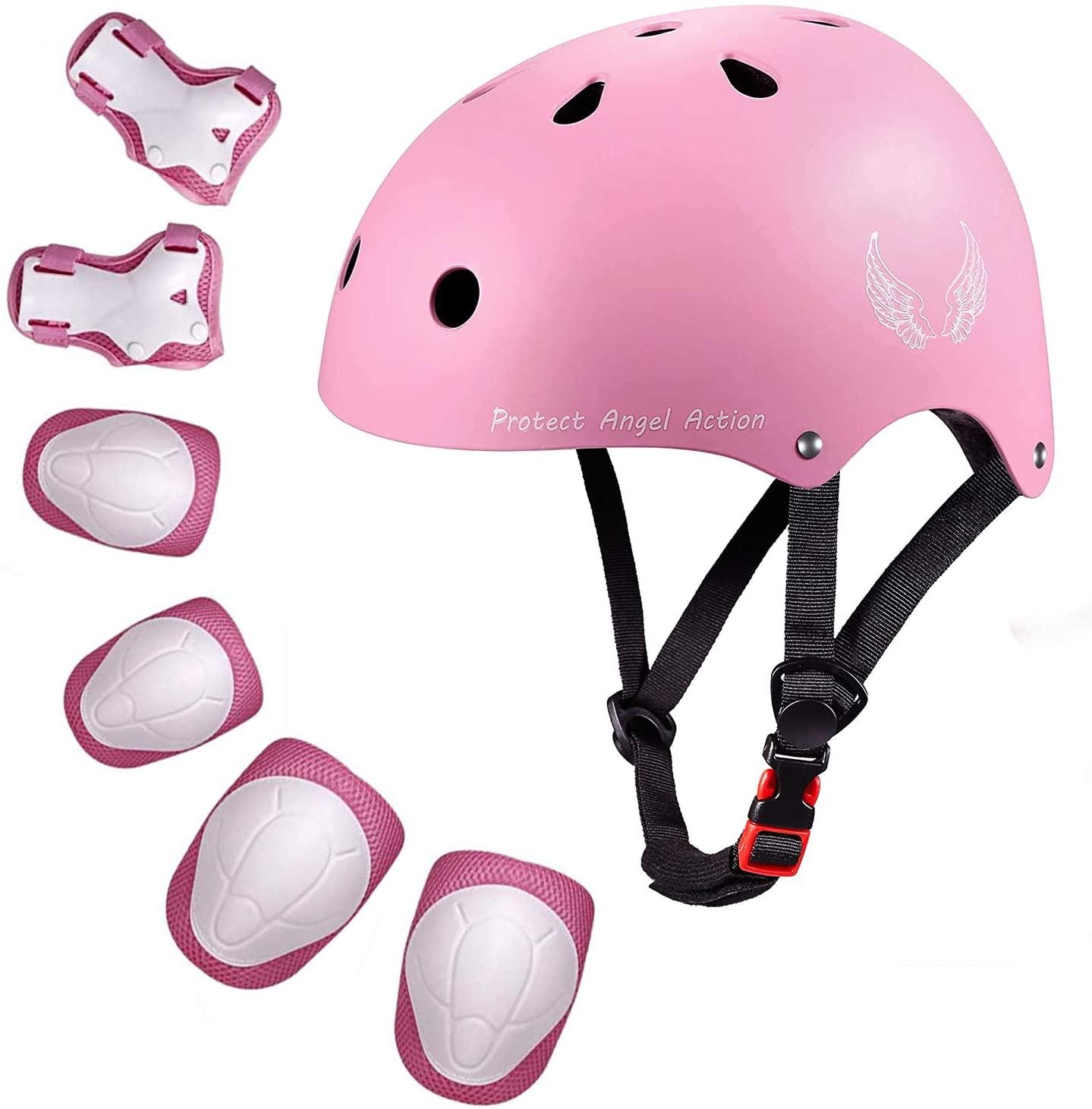 Orieta Kids Bike Helmet Toddler Helmet Adjustable Kids Helmet CPSC Certified Ages 3-10 Years Old Boys Girls Multi-Sport Safety Cycling Skating Scooter Helmet