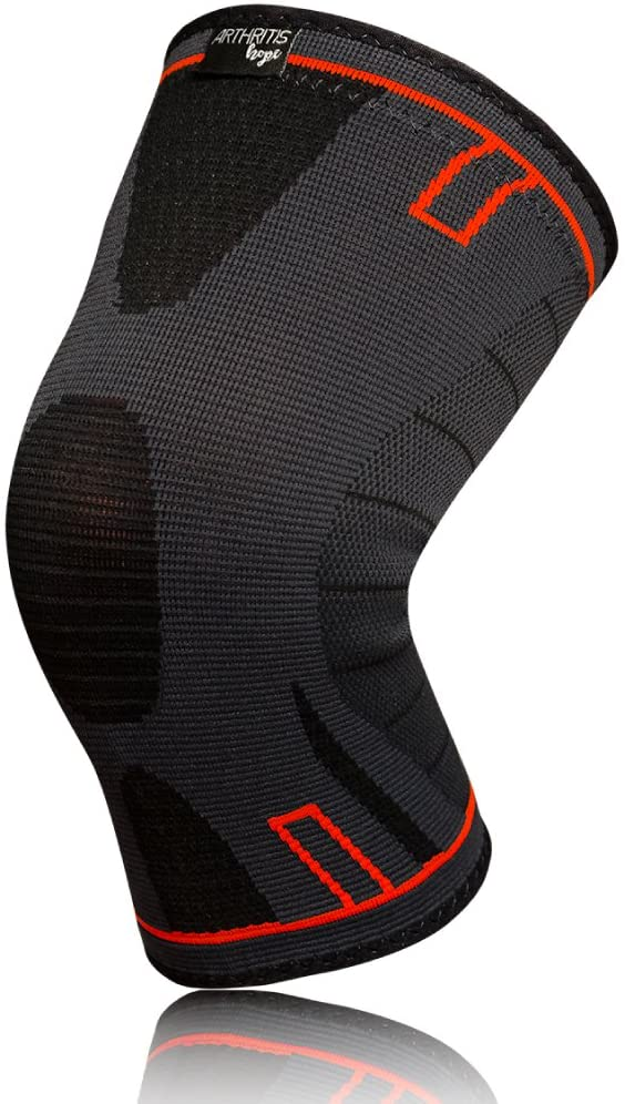 ArthritisHope Knee Brace (2XL) - Knee Compression Sleeve for Knee Pain, Running, Weightlifting, Arthritis, Sports, Gym, ACL (Men and Women)