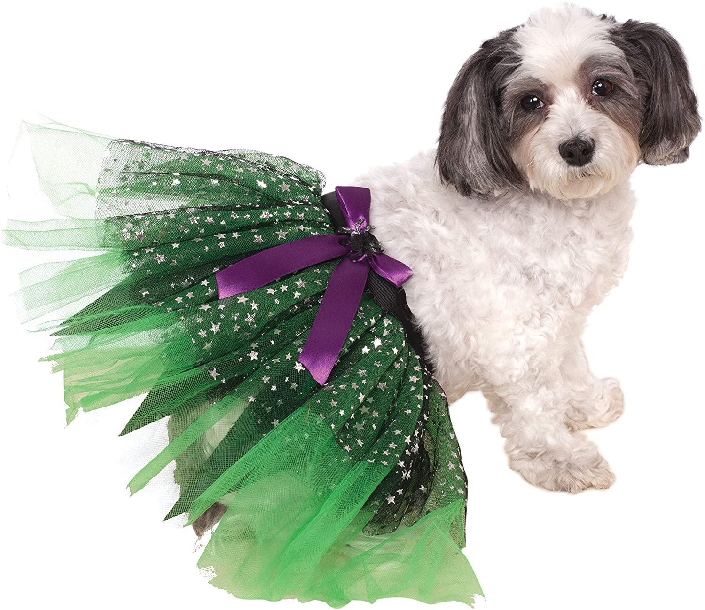 Rubie's Costume Witch Tutu with Stars Pet Skirt