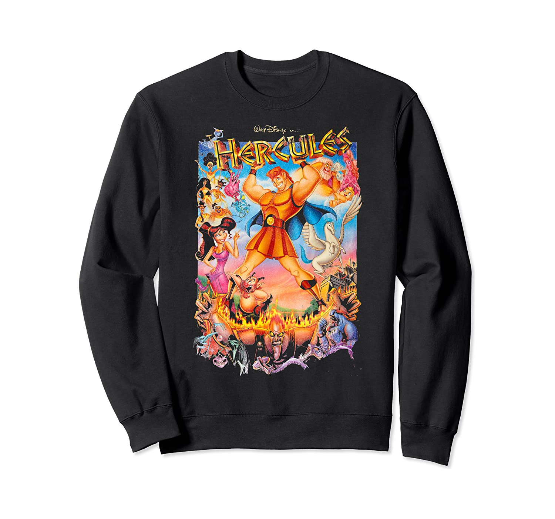 Disney Hercules Classic Movie Poster Sweatshirt