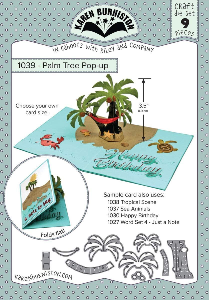 KB Riley Palm Tree Pop-Up Dies, Grey