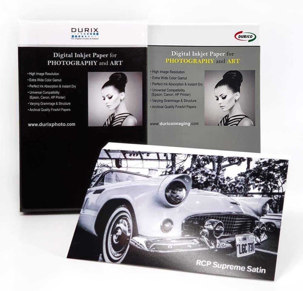 DURIX RCP Supreme Satin 270gsm Digital Inkjet Photo Paper (8-x-10/25sheets)