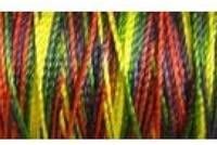 YLI 25008-080 Pearl Crown Rayon Variegated Thread, 170 yd, Dark Primary