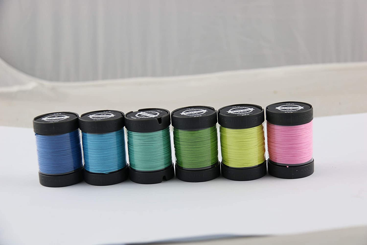 Since Leather 100% Linen Hand Sewing Thread 48 Colors Available DIY leathercraft (M30/0.35MM/150M/Spool) (M30/ Yellow)