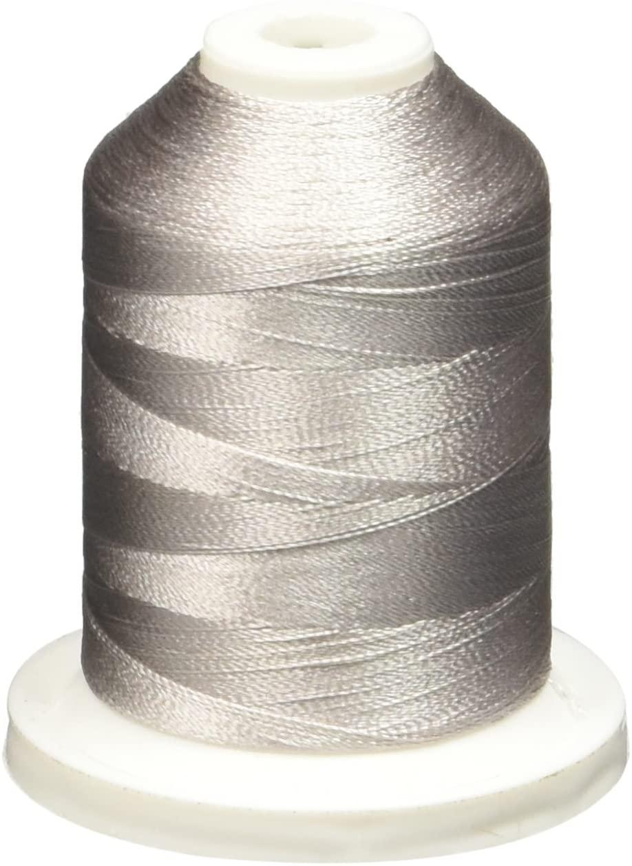 Robison-Anton Rayon Super Strength Thread, 1100-Yard, Pearl Gray