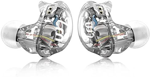 TRN V10 2DD+2BA Hybrid in Ear Headsets HiFi DJ Monitor Running Sport Earphone Earplug Headphones with 2PIN Cable White(NO Mic)