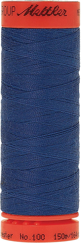 Mettler Metrosene 100% Core Spun Polyester Thread, 165 yd, Cobalt Blue