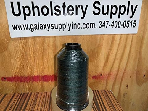 A&E Outdoor Thread Tex 135 SUNSTOP Bonded Polyester Forest Green Color # 66506~8oz 1350Y