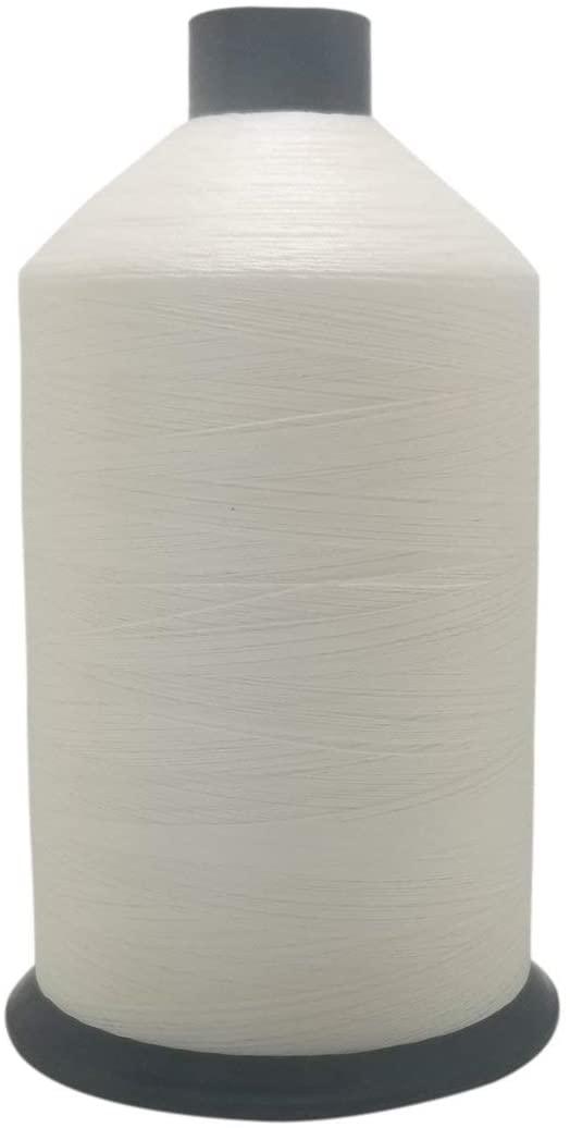Tex 90 White - Premium Bonded Nylon Sewing Thread #92 1lb or 16 oz 4484 Yards
