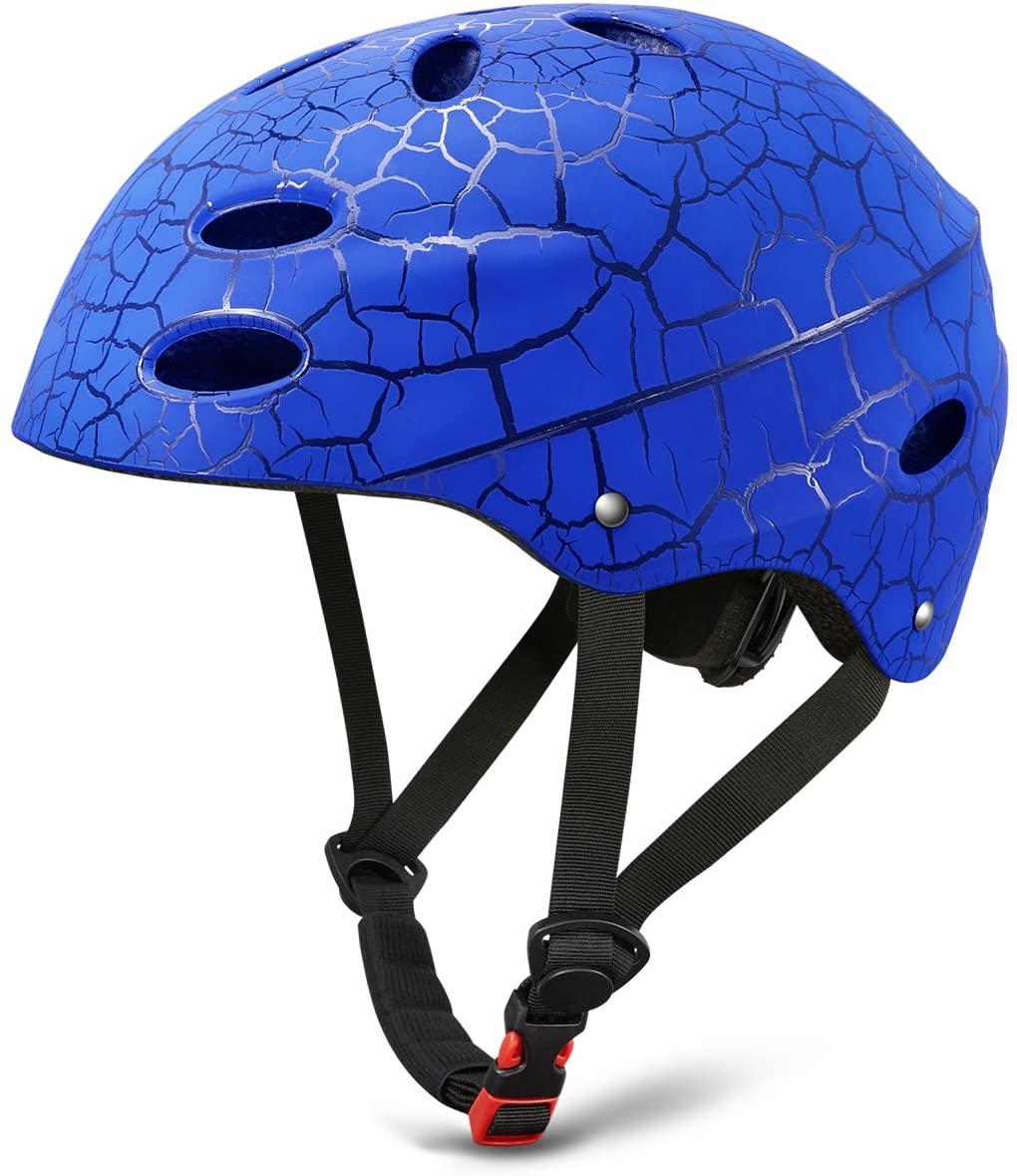 KUSTAR Kids Skateboard Helmet,Adjustable Bike Helmet, Skate Helmet for Safety Cycling/Skating/Scooter/Inline Skating, CPSC Certified for Youth/Teens Boys Girls