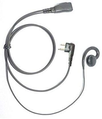Lapel Microphone Earpiece Headset for Motorola GP350 Two Way Radio