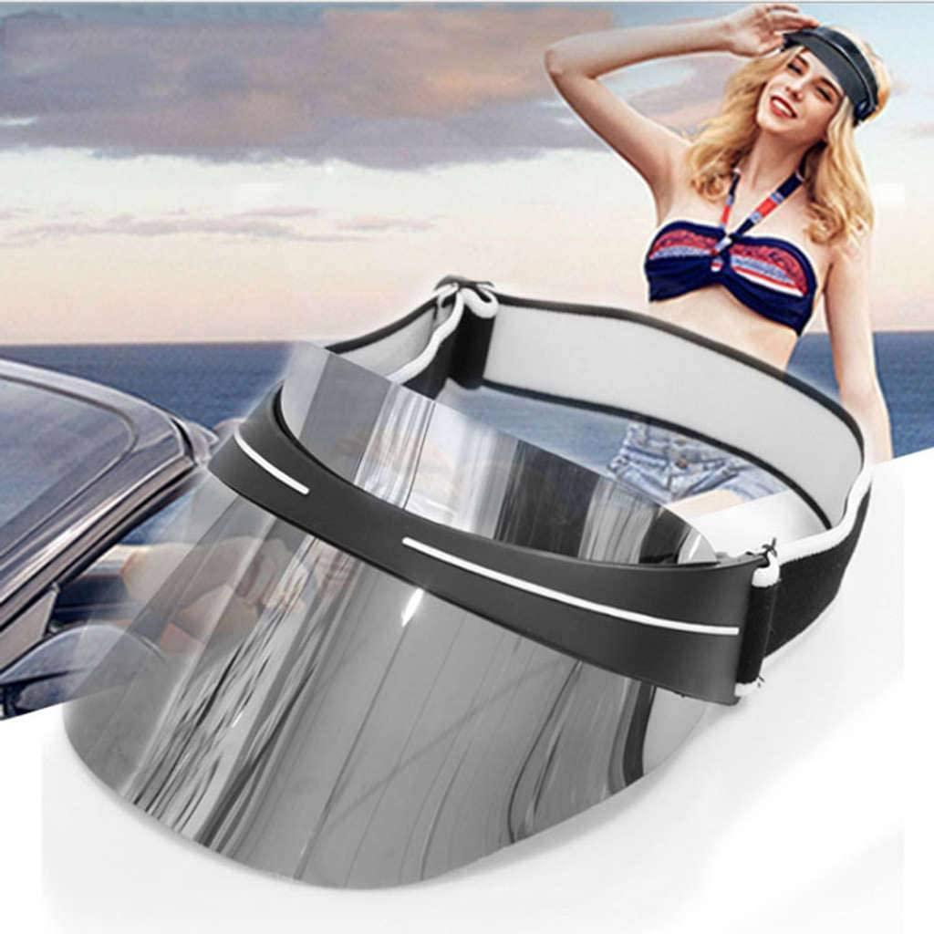 Nonebrand Visors Empty Roof,Gender Anti-UV Lens Sun Sun Protection Hat
