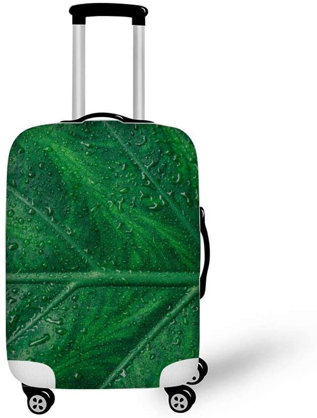 Asymmetry Botanical Fashionable Baggage Suitcase Protector Travel Luggage Cover Anti-Scratch