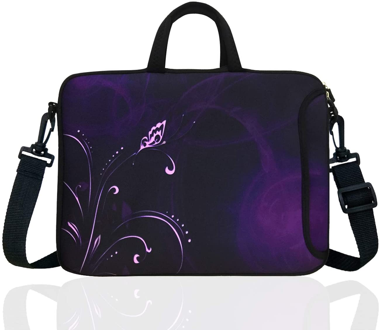 15-Inch to 15.6-Inch Neoprene Laptop Shoulder Messenger Bag Case Sleeve For 14 14.1 15 15.6