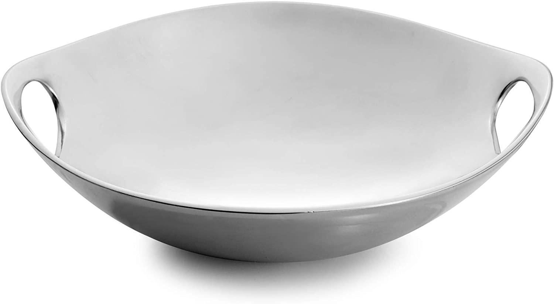 """Nambe Handled Bowl – 10"""""""