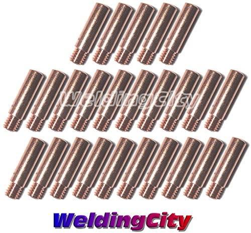 WeldingCity 25-pk MIG Welding Contact Tip 11-35 (0.035