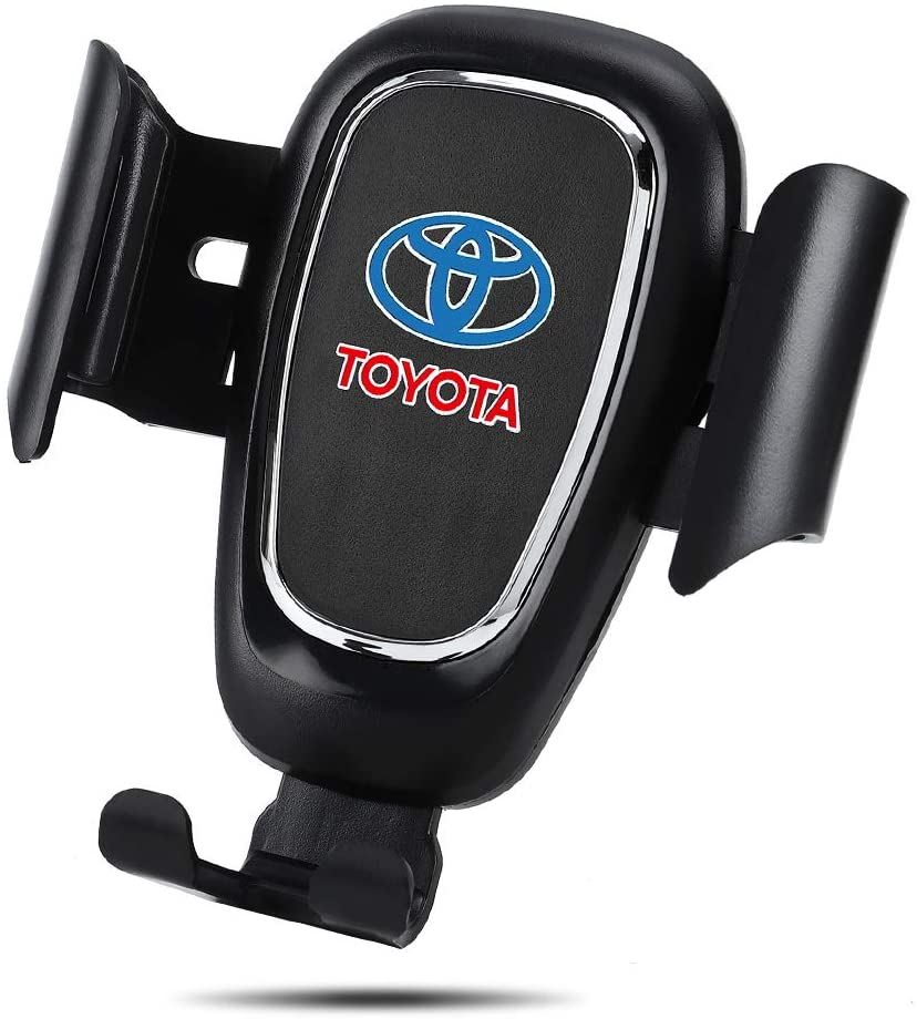 Car Mount Phone Holder Automatic Locking Universal Air Vent GPS Cell Phone Holder for Toyota (for Toyota)