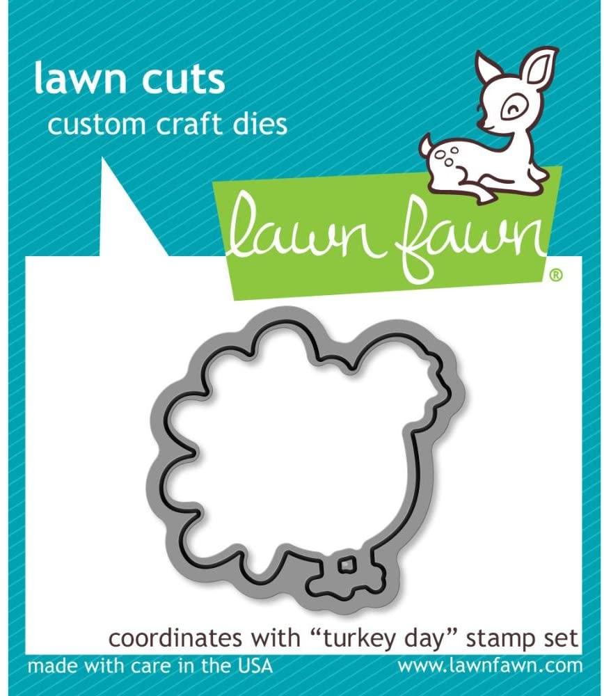 Lawn Fawn Lawn Cuts Custom Craft Die - LF968 Turkey Day