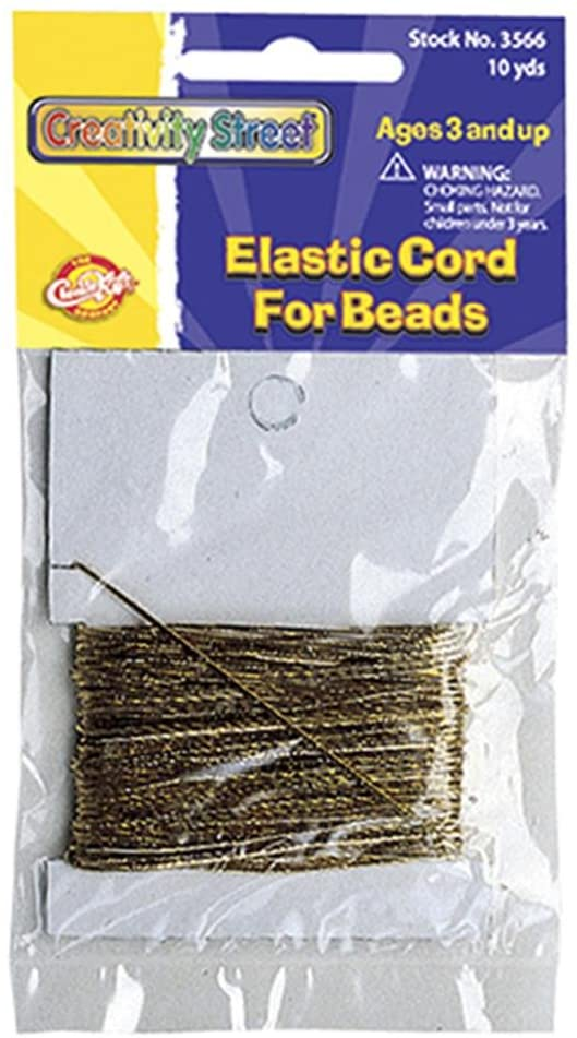 Elastic Cord (Gold Colored)
