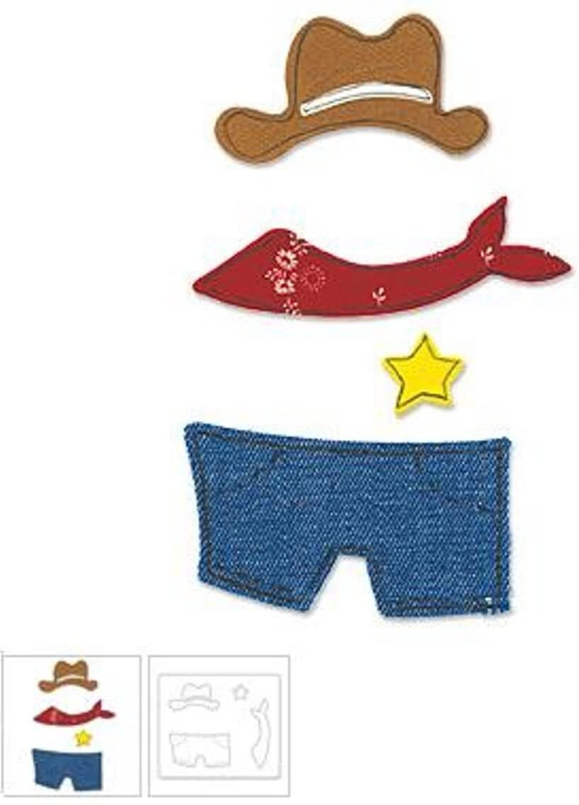 Sizzix(R) Originals Die - Large Animal Cowboy Outfit