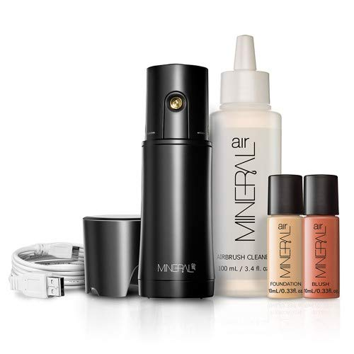 Mineral Air Complexion and Blush Kit | Flawless Mineral Foundation & Blush Application - Light