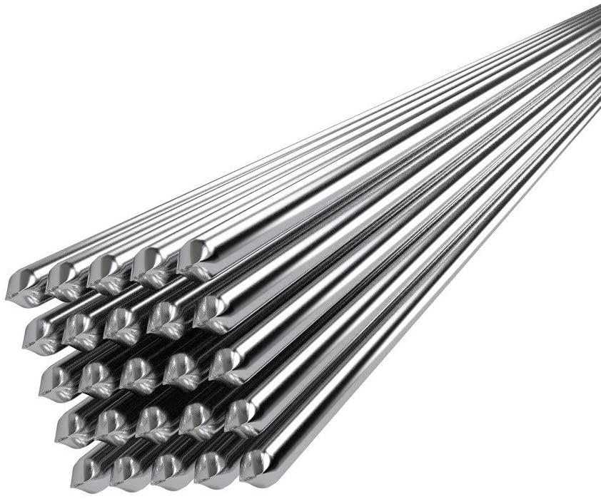 Kaokee Low Temperature Aluminum Welding Wire Flux Cored 2mm500mm Al-Mg Soldering Rod No Need Solder Powder 20PCS