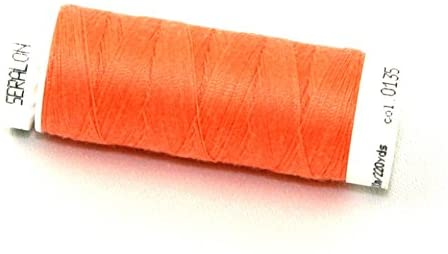 Mettler Seralon Polyester General Sewing Thread 200m 200m 135 Salmon - each
