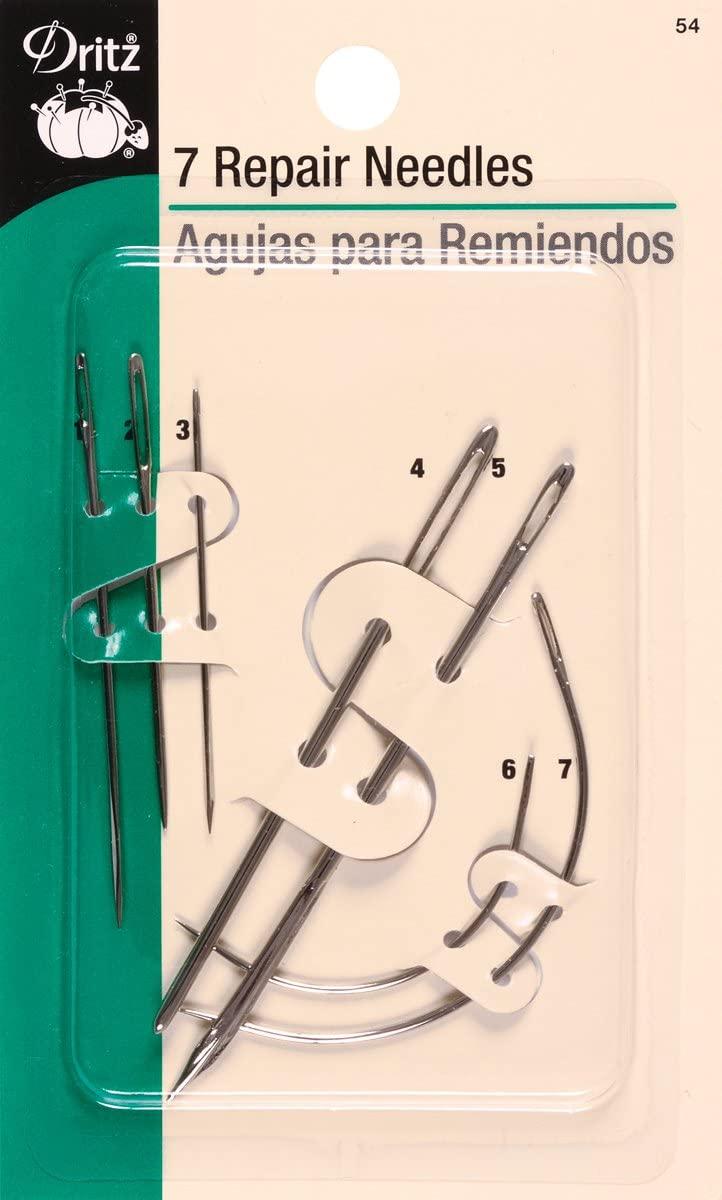 Dritz Repair Hand Needles, Assorted Styles & Sizes (7-Count)
