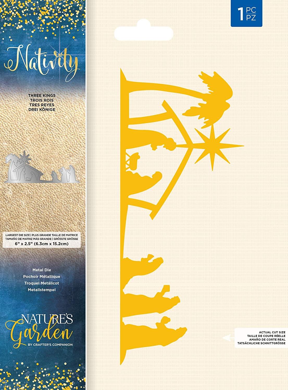 Nature's Garden NG-NAT-MD-THK Nativity-Die-Three Kings, Silver