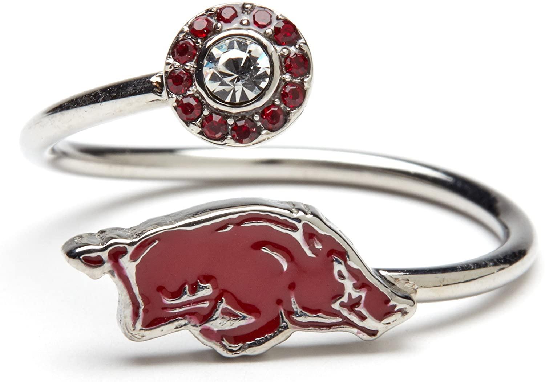 Stone Armory Arkansas Razorback Ring   University of Arkansas Ring   Arkansas Razorback Jewelry   Arkansas Ring